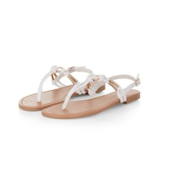 sandales new look white